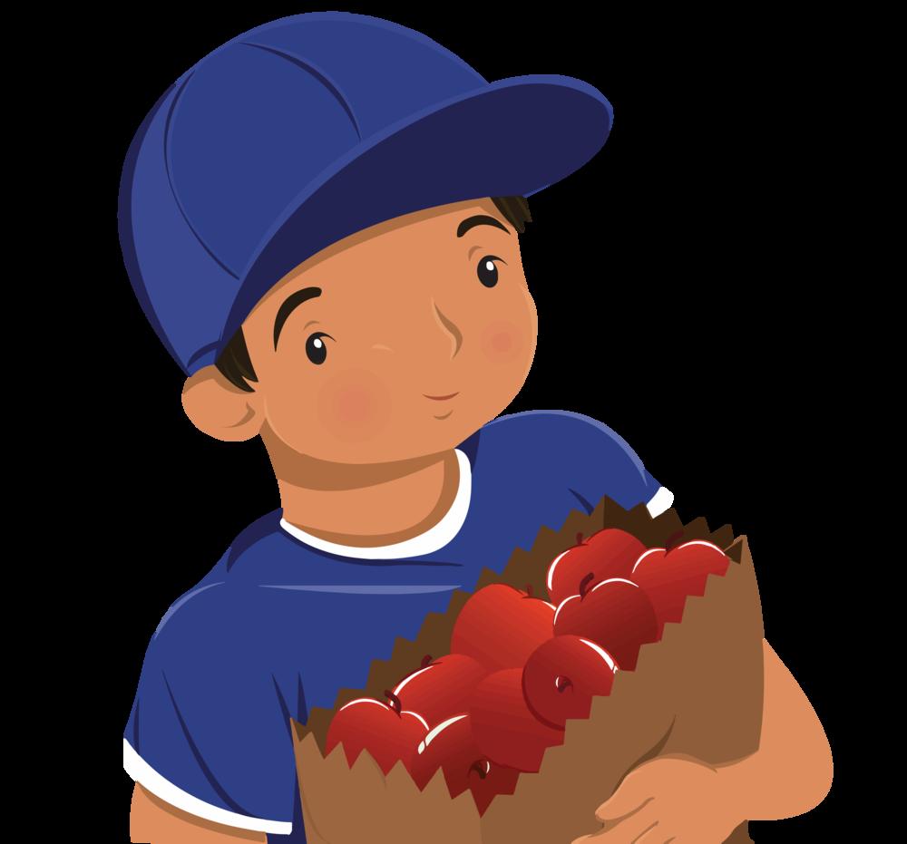 Let's Chat Books Illustration of Boy