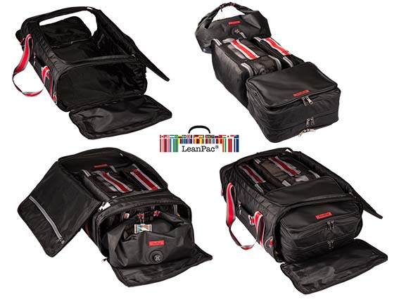 The LeanPac® System of Modular Travel Bags