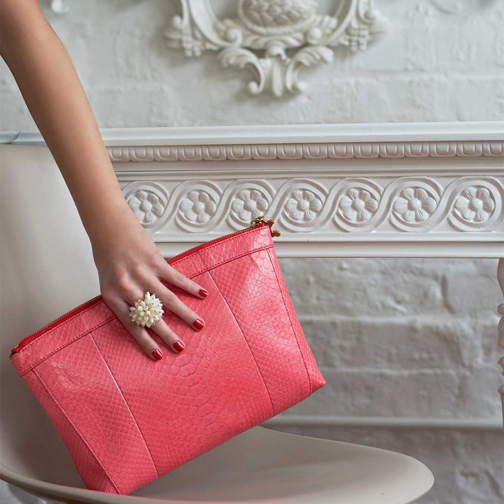 Clutch in coral python