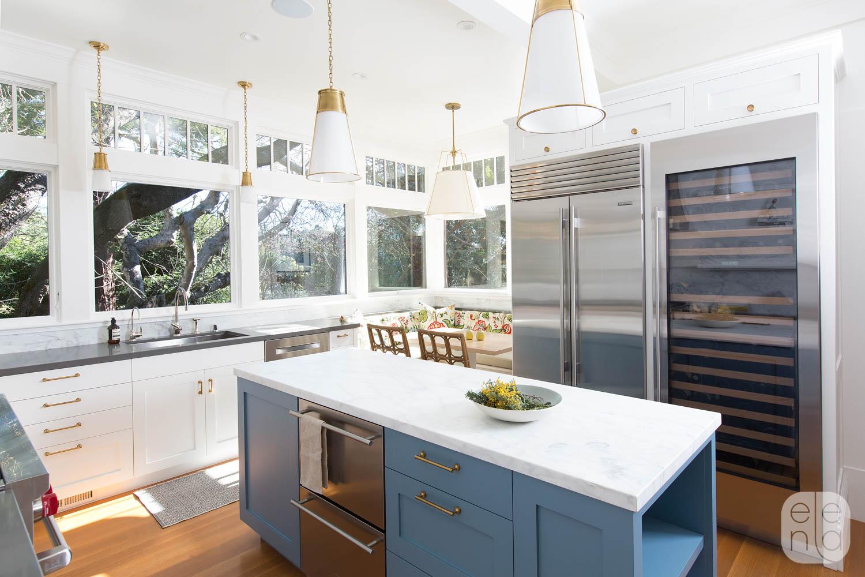 Hilltop Kitchen & Dining — Elena Calabrese Design & Decor
