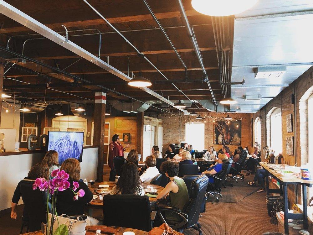 Embark Women Social - Speak Human with Laura Eastburn