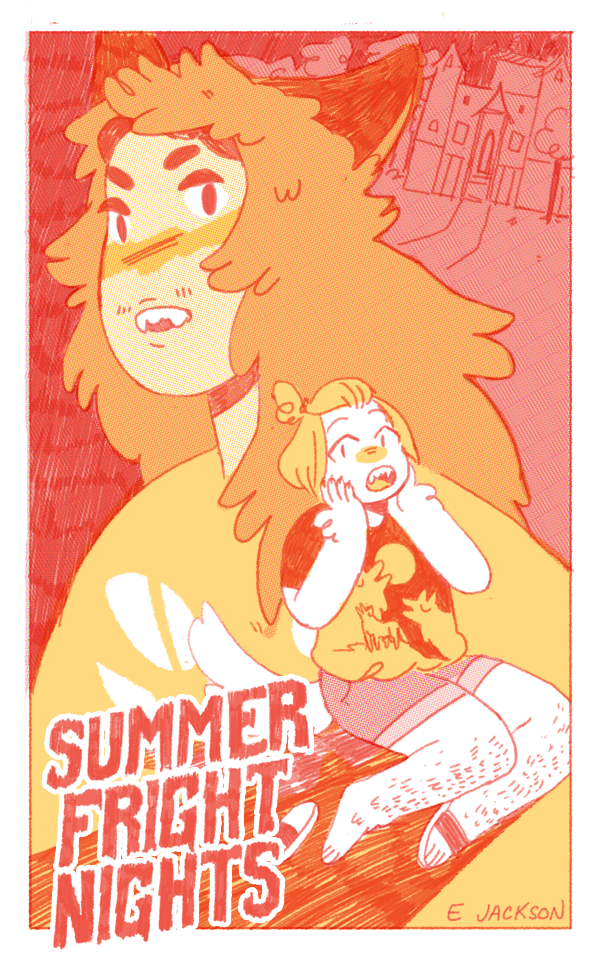 SUMMER FRIGHT NIGHTS ,   20 pgs, limited color, 2016  halloween meet cute and a case of mistaken identity.