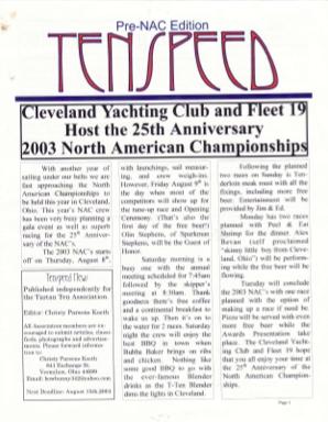 Pre-NAC 2003