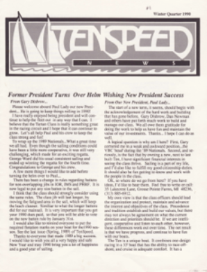 Winter 1990 Issue #1