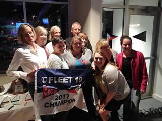 2017 Fleet 19 Fleet Champion Pursue - Sue McIntyre & Suzie Florence