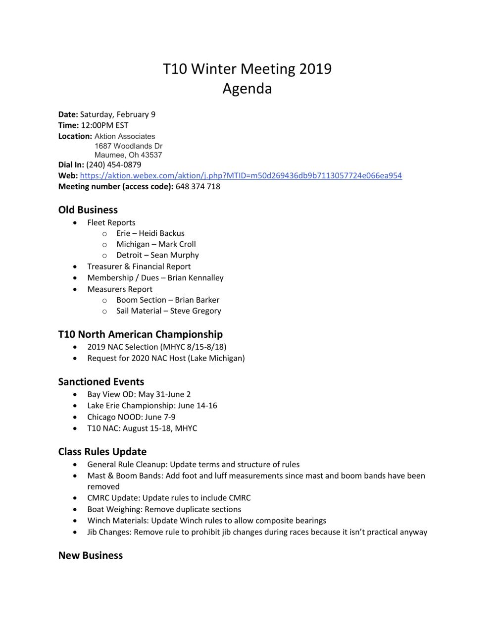 2019 T10 Winter Meeting AgendaV2.png