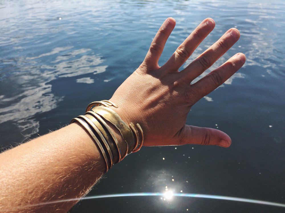 AEO bangles on the Teton River