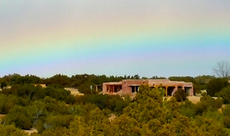 Hat Ranch Gallery with Rainbow