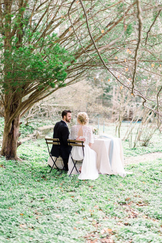 English Garden wedding.