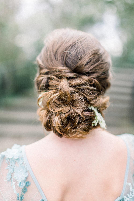 Bridesmaid Hairstyle.