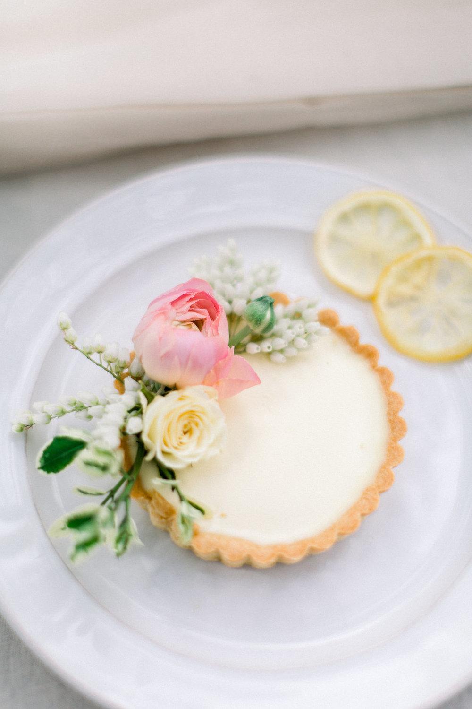 Wedding desserts. Lemon Tart.