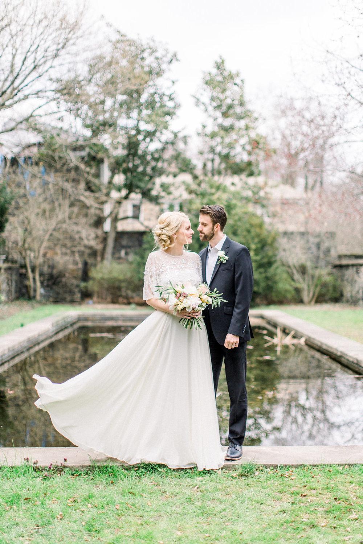 Beautiful wedding in the Spring.