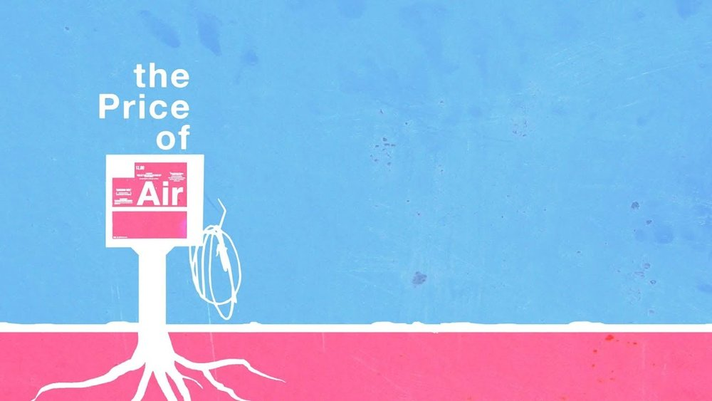 The Price of Air by Stephen Teague Poster