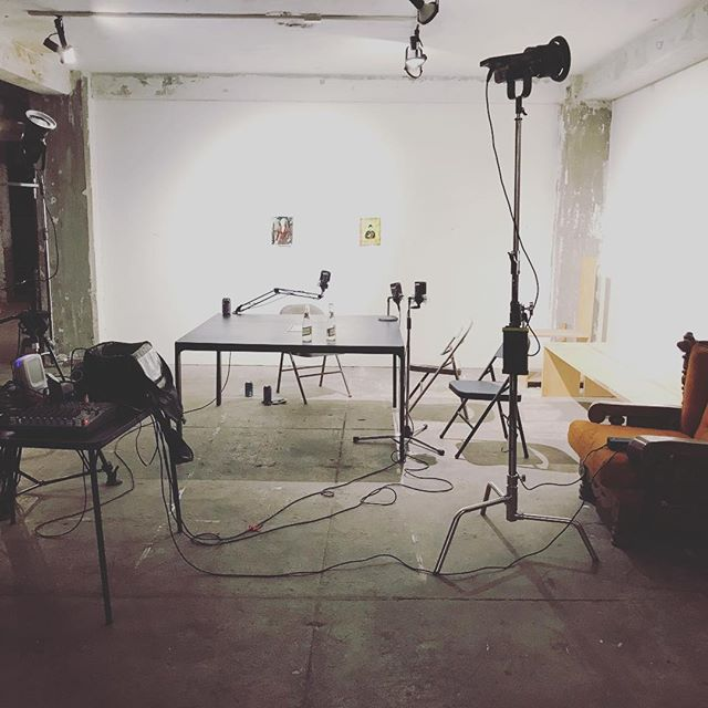 Starting to setup for more episodes of Anyways, our Deadwood review show. Check out our YouTube channel or podcast feed, PMP Podcasts, to catch every episode.