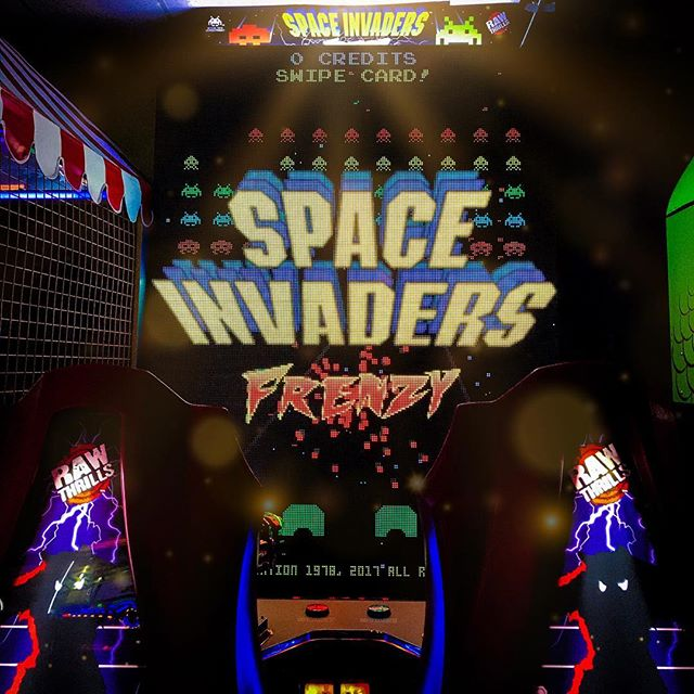This game induces seizures but it's as much fun as you'd imagine a giant space invaders being (which is a lot).