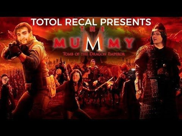 NEW EPISODE of #TotolRecal about Mummy: Tomb of the Dragon Emperor⠀ https://www.pianomanpictures.com/totol-recal