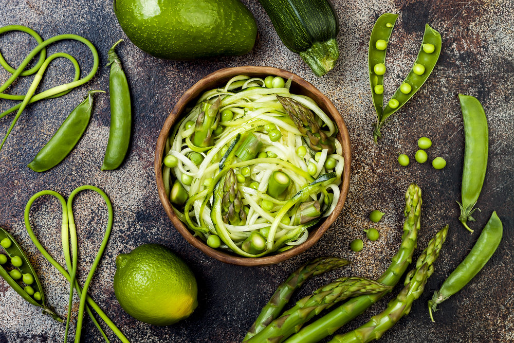 Vegetable Stir-Fry With Zucchini Noodles