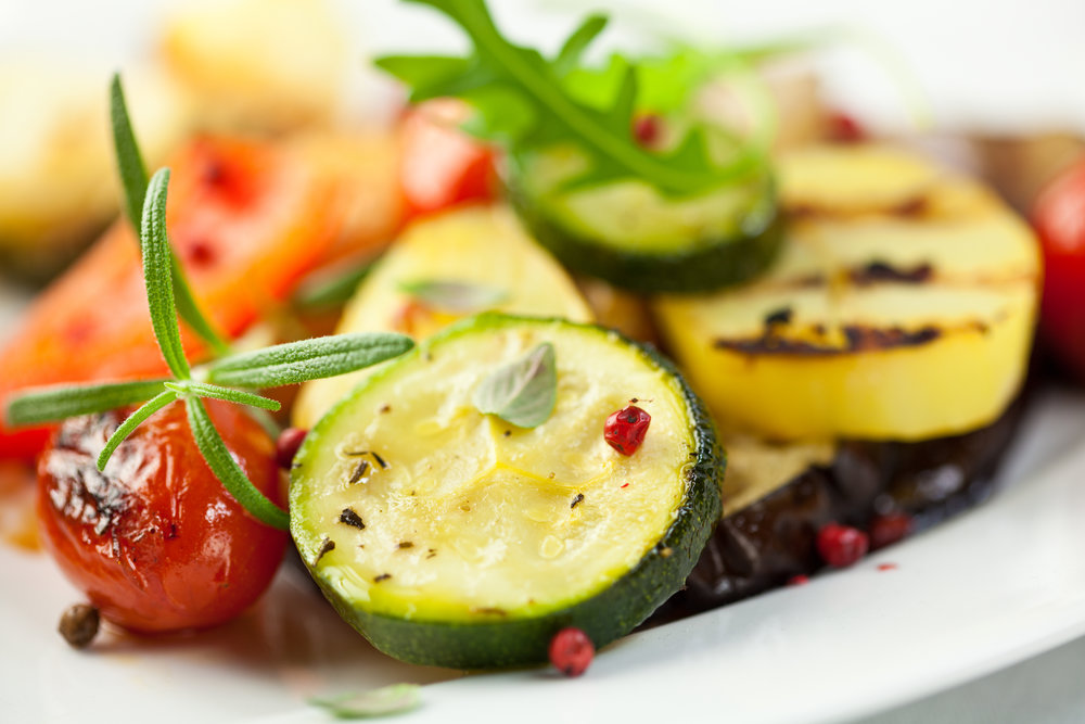 Roasted Zucchini and Cherry Tomatoes