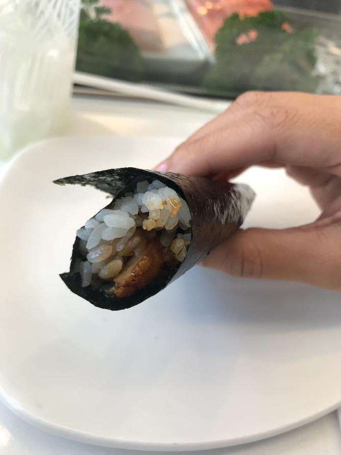 Japanese Unagi Handroll
