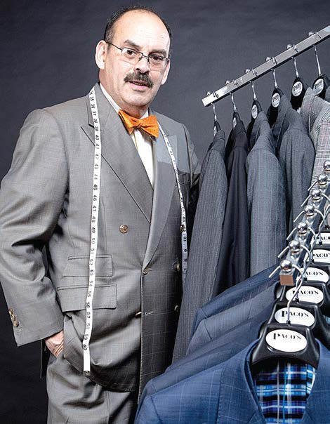 Paco Fernandez - Paco's Custom Clothiers twitter: @Chicagoclothier