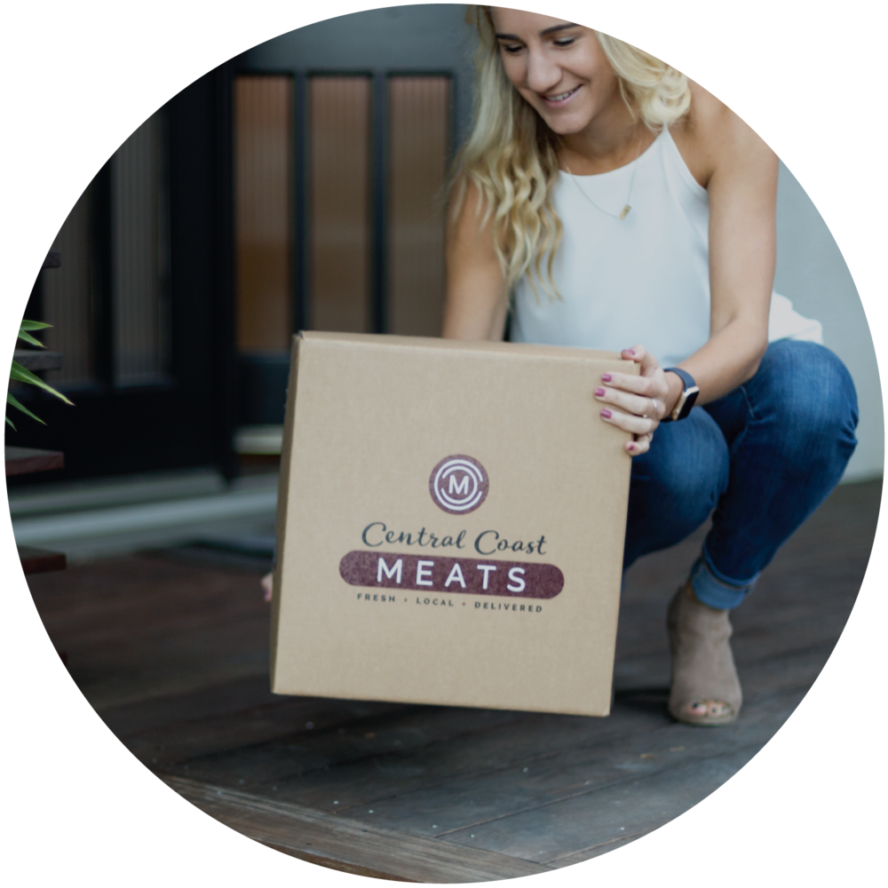 Your shipment is assembled in an eco-friendly, biodegradable, insulated shipping box, which keeps your cuts properly chilled and safe during transit. You will receive your shipping notifications so you know when to expect your delivery.