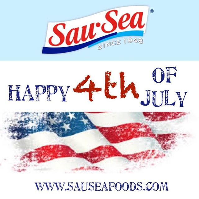 Happy 4th of July! 🇺🇸 . . #4thOfJuly #IndependanceDay #USA #America #Holiday #SauSea #Sauces #Party #ShrimpCocktail