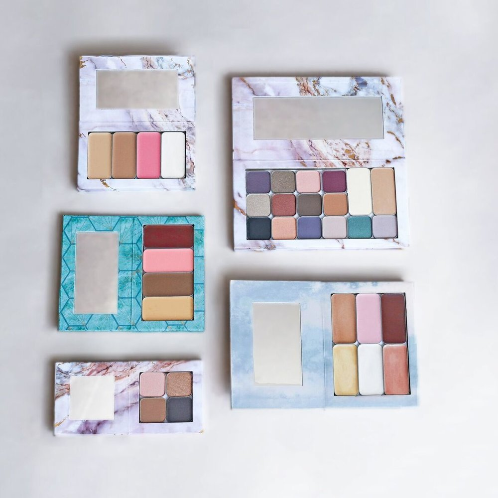 There are numerous combinations with all of the compacts! How would you organize your compact?