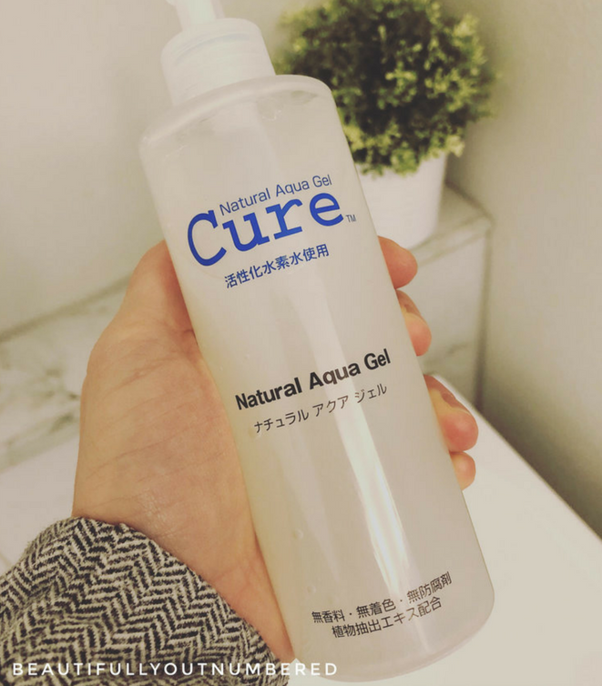 Cure exfoliating Gel - Beautifully Outnumbered Blog