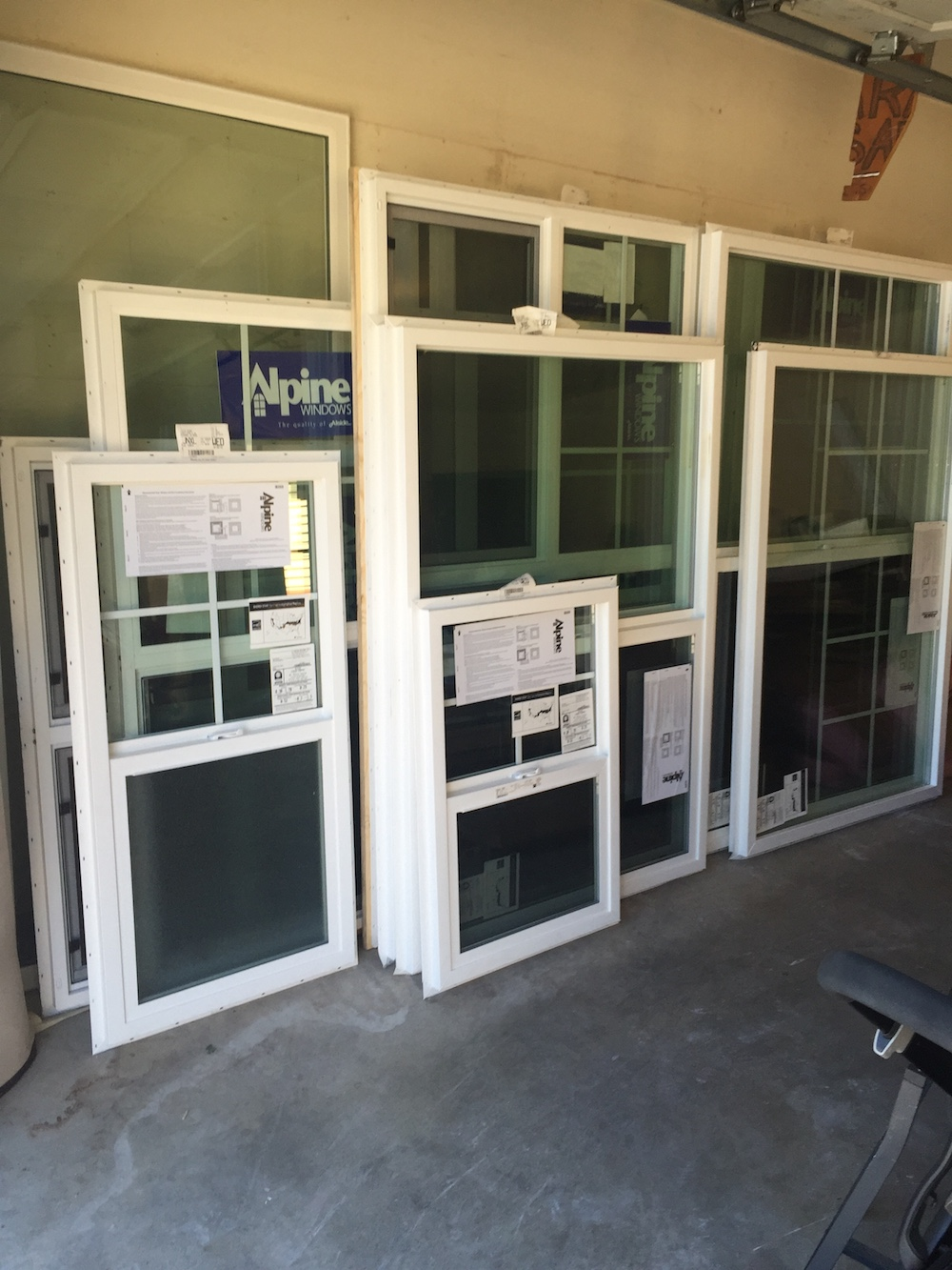 New windows for the house!
