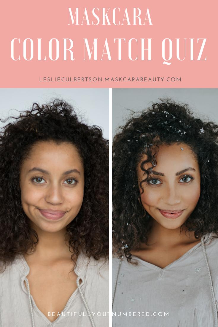 Maskcara Color Match Quiz Find your Perfect Maskcara Shades