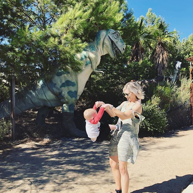 The sun is finally coming out! What's your favorite season? I love spring! So excited for spring! #springfever #spring cleaning • Reminiscing of our Palm Springs trip last at @cabazondinosaurs