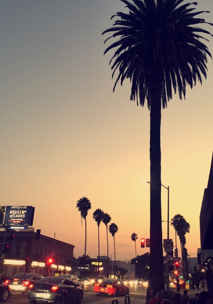 Sunset on Sunset