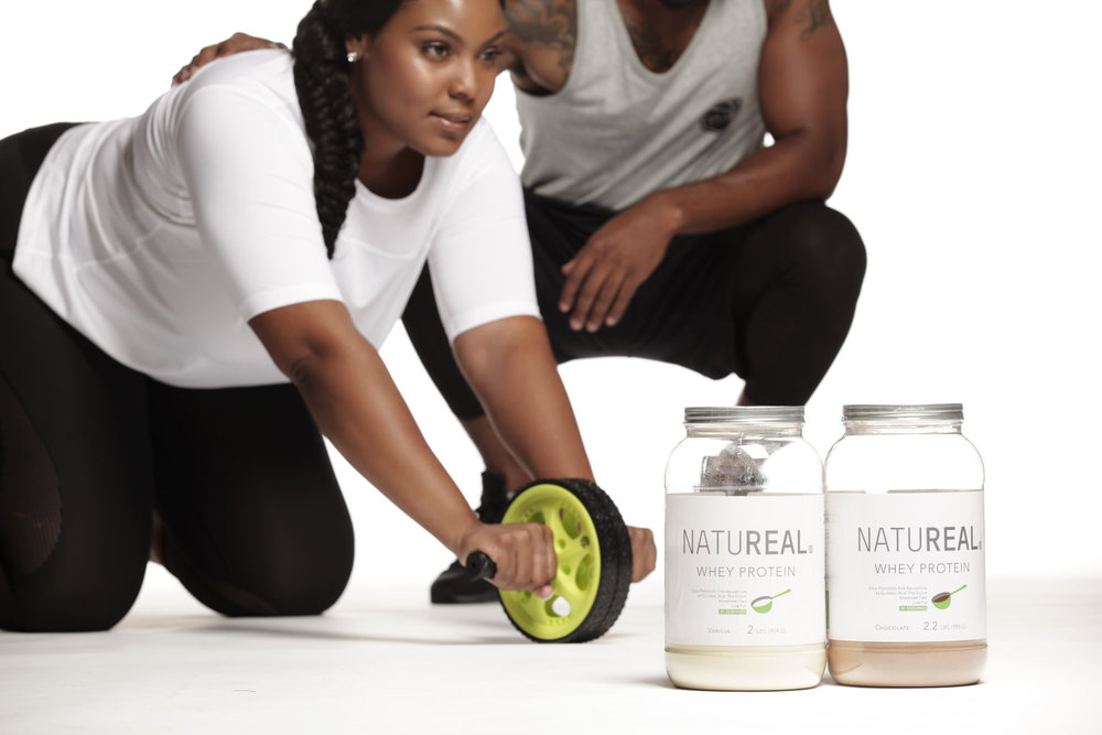 NATUREAL - Whey Protein - Nutrional Supplement