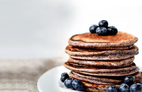NATUREALChoc Lit Berry pancakes -