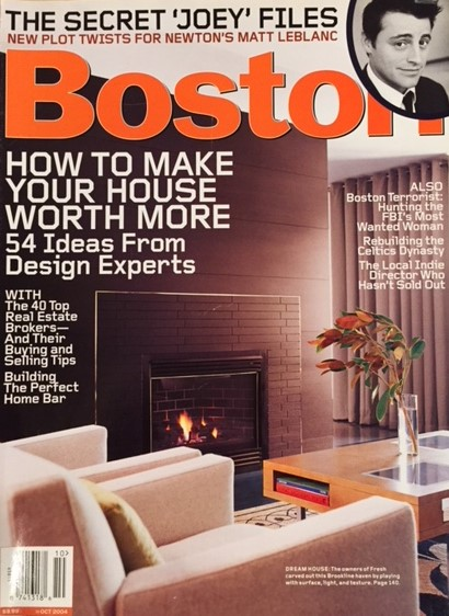 "Copy of 2004 - Boston Magazine ""Betting on the House"""