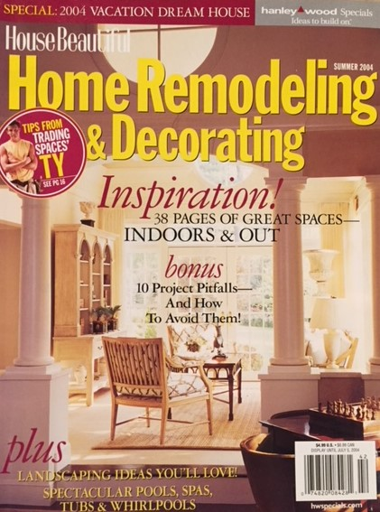"Copy of 2004 - House Beautiful Home Remodeling and Redecorating ""A Colonial Breaks Out Of The Box"""