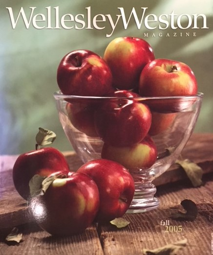 "Copy of 2005 - Wellesley Weston Magazine ""Women in Change"""