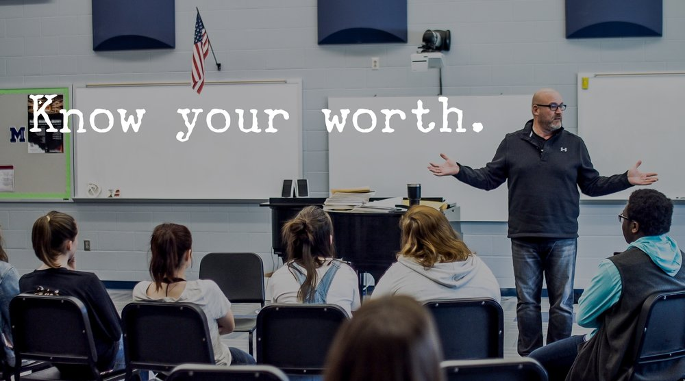 Youth Speaker Jeff Yalden says Know Your Worth