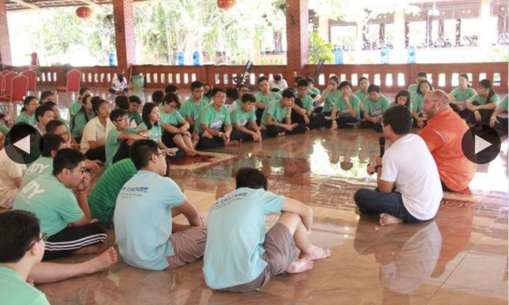 Vietnam Student Leadership with Teen Speaker Jeff Yalden