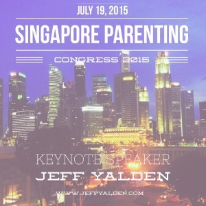 Singapore Parenting Conference Jeff Yalden