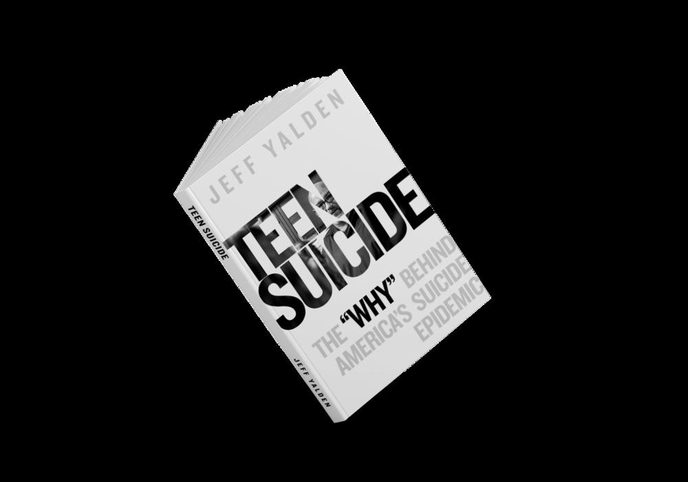 Best Seller! Teen Suicide Book by Jeff Yalden