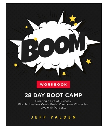 FREE Copy for You! - I want you to have a FREE Copy of my BOOM: Workbook. It's a 28 Day Workbook for Creating a Life of Success. Find Motivation. Crush your Goals. Overcome Obstacles. Live a Life of Purpose. Hope you enjoy and use it every month.