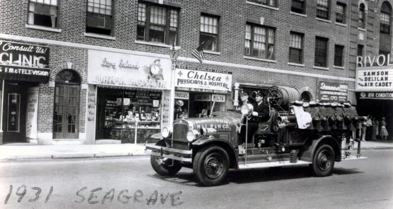 1931 Seagrave Engine