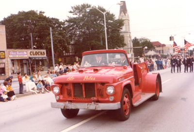Slo-Pokes Racing Team Vehicle. Eventually owned by the  Carle Place Frogs  Drill Team
