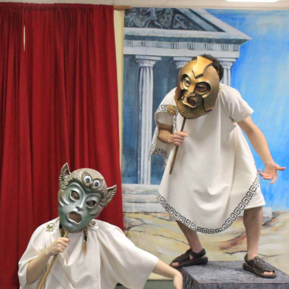 ANCIENT GODS: GREEK MYTHS FOR KIDS! -