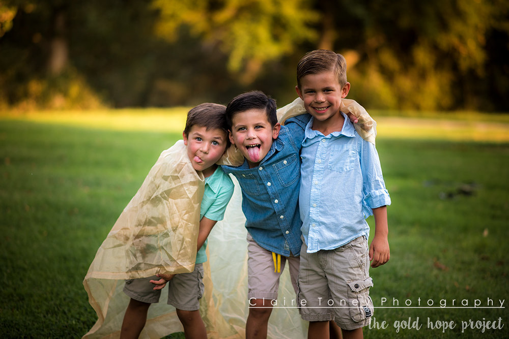I love the closeness that these brothers have. The Gold Hope Project photo session at the UC Davis Arboretum.