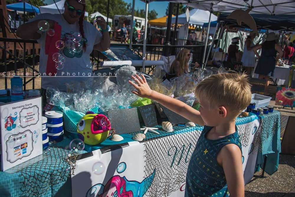 Bubbles at the market