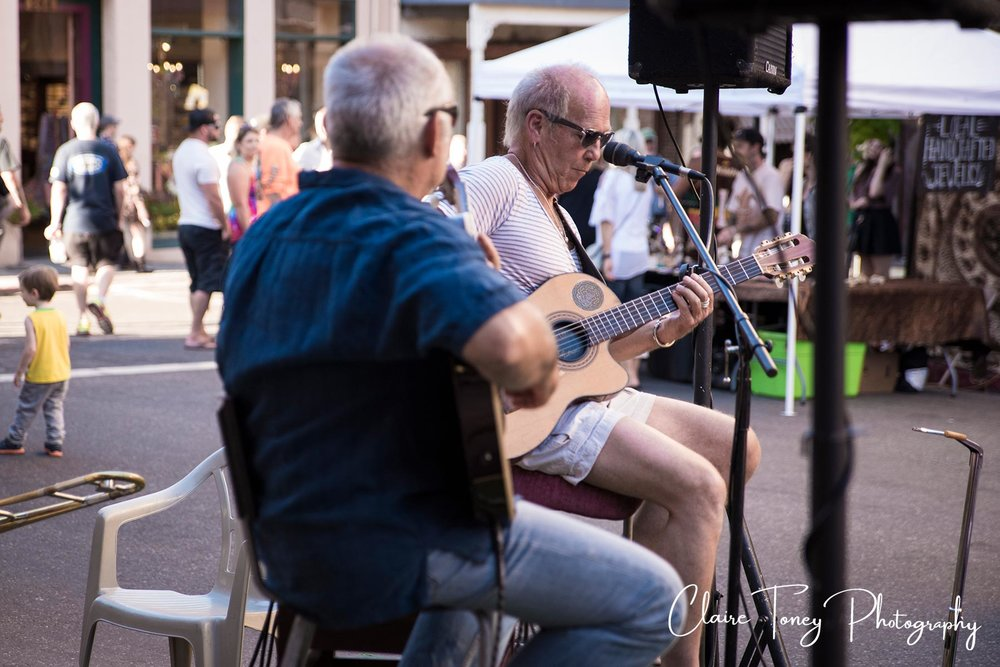 Musician Nevada City 2017 Summer Nights event