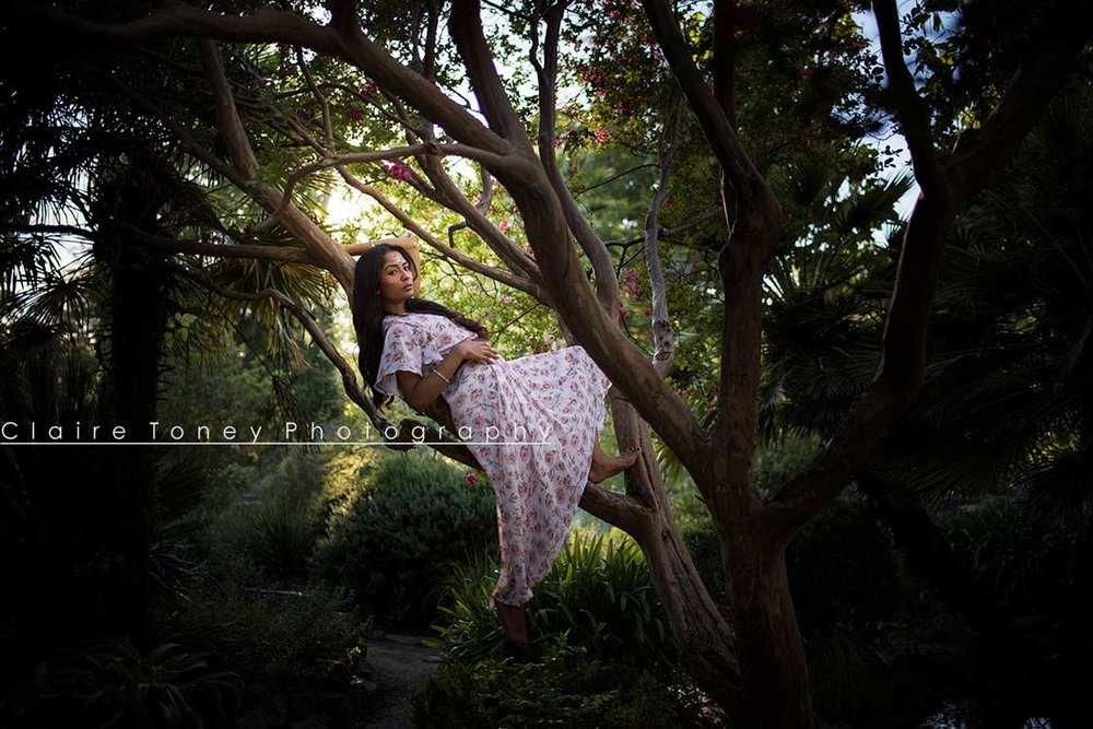 Photosession at the WP Rock Garden with Nibvana in Sacramento, CA by Claire Toney Photography