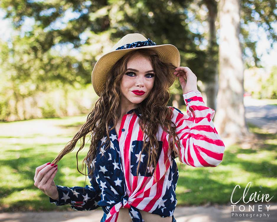 Model Photography with Emily Turner at Royer Park Roseville CA